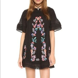 Free People Perfectly Victorian Embroidered Mini